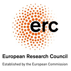 Logo of the European Research Council ERC.