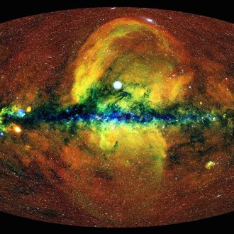 Sky map in X-ray